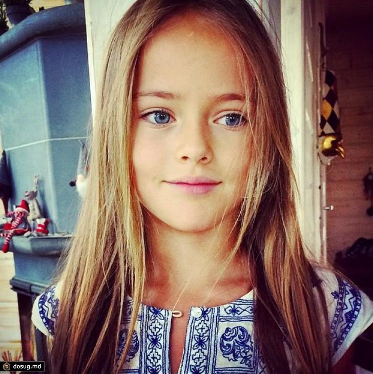 Кристина Пименова - 9-летняя звезда модных журналов
