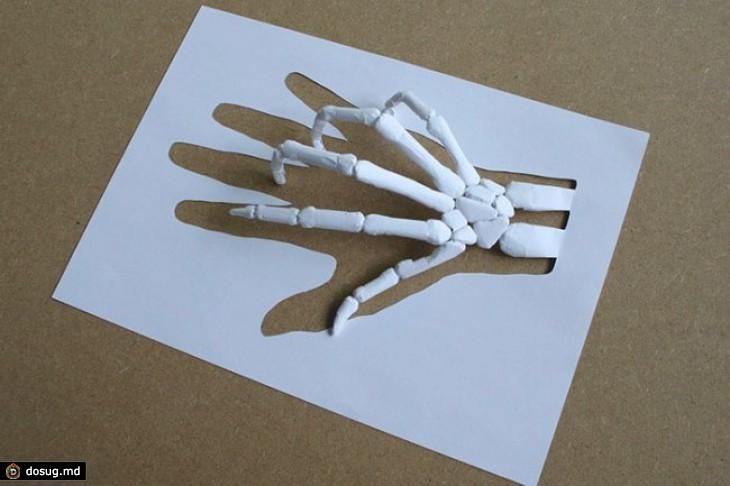 Поделки без клея из бумаги