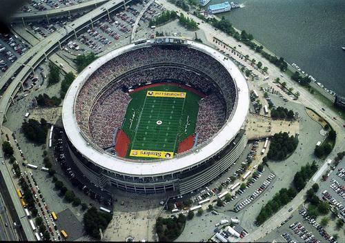 25 стадионов – вид сверху