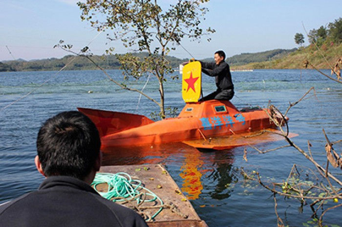 как сделать подводную лодку для человека