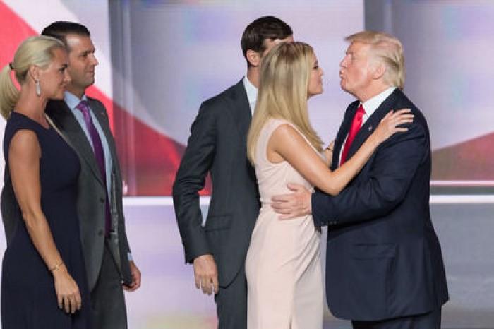 многочисленным иванка трамп отношение американцев к ней РОССИИ Внешняя