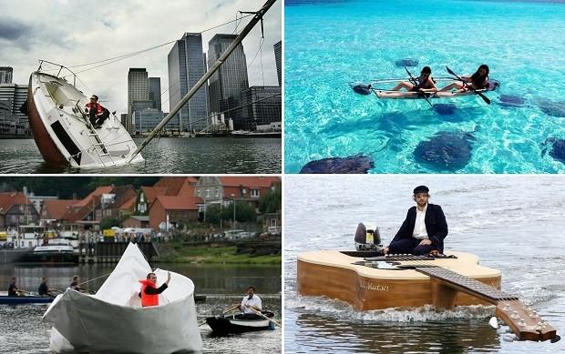 самые интересные лодки миру