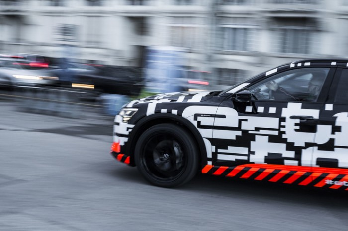 Прототип Audi e-tron на Worthersee