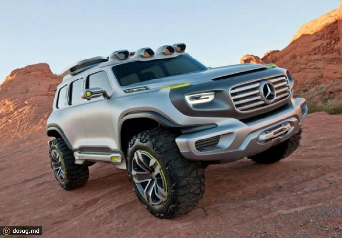 Брутальный Mercedes-Benz Ener-G-Force