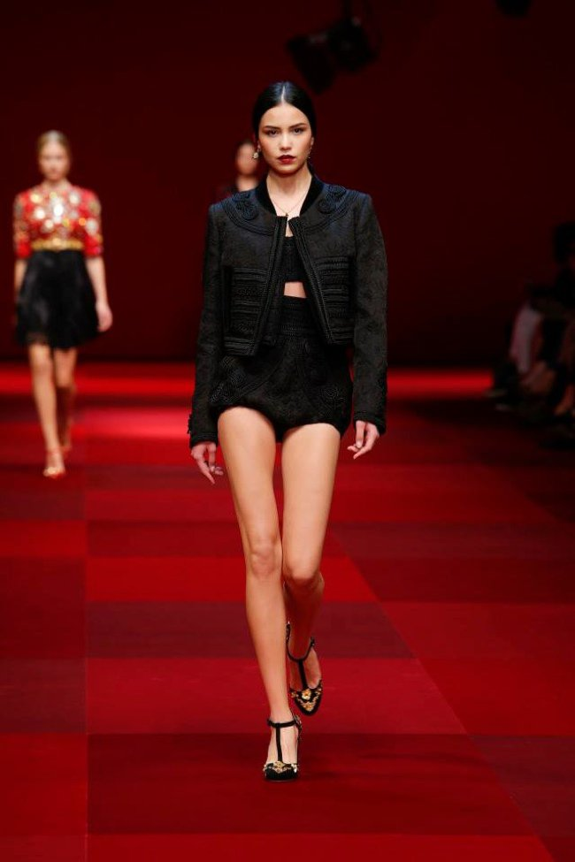 Milan fashion week: Dolce & Gabbana весна-лето 2015