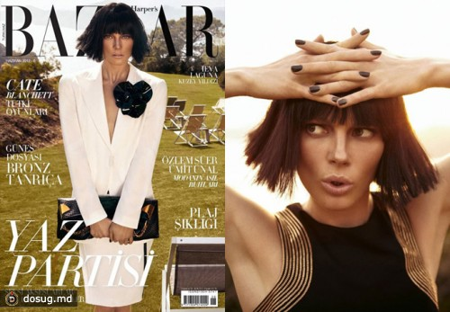 Ива Лагуна в Harper's Bazaar Turkey