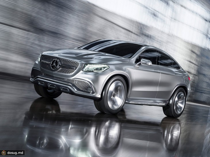 Пекин 2014: Mercedes-Benz Concept Coupe SUV