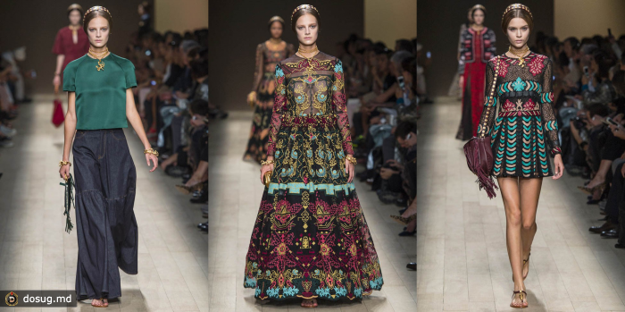 Paris Fashion Week: Valentino весна 2014