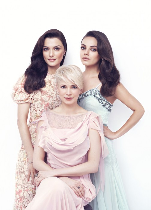 Mila Kunis, Michelle Williams & Rachel Weisz InStyle, 2013