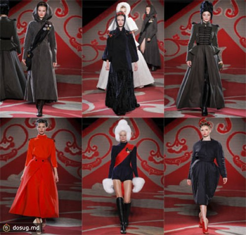 Paris Haute Couture Fashion Week: Ulyana Sergeenko couture осень-зима 2012-2013